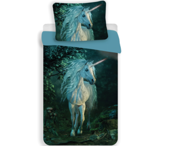 Unicorn Duvet cover Forest 140 x 200 cm