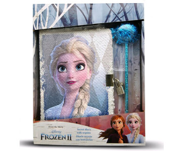 Disney Frozen Diary with Sequins - 28 cm