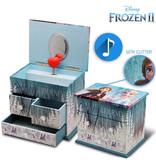 Disney Frozen Music box / jewelry box - 16.5 x 14.5 x 11.5 cm - Multi