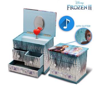 Disney Frozen Boîte à musique / Boîte à bijoux Believe the Journey