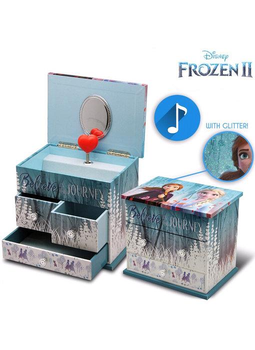 Disney Frozen Music box / Jewelery box Believe the Journey
