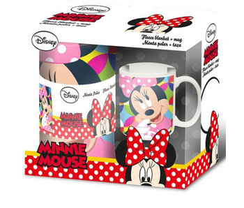 Disney Minnie Mouse Ensemble molleton et couverture