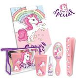Unicorn Reiseset - 6 Teile - Pink