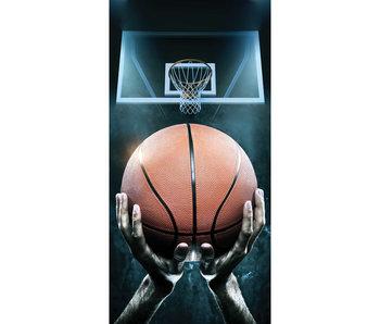 Basketbal Serviette de plage 70 x 140 cm