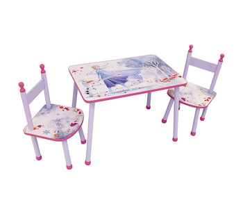 Disney Frozen Tafel en stoeltjes/Zithoekje