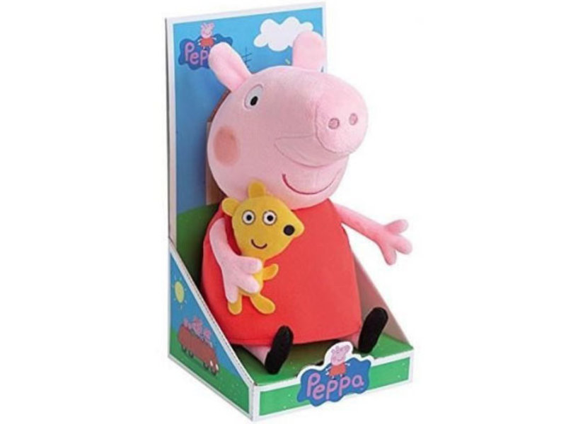 Peppa Pig Freddie - Knuffel - 24 cm - Multi