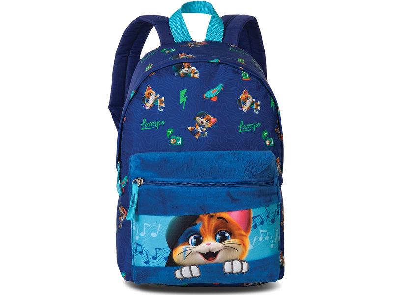 44 Cats Lampo - Rucksack - 36 x 24 x 12 cm - Blau