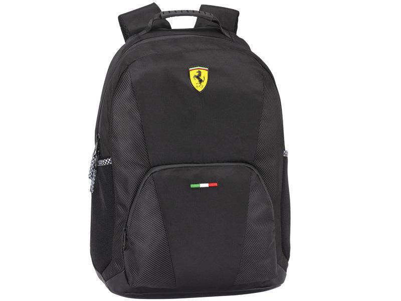 Ferrari Backpack - 40 x 29 x 14 cm - Black