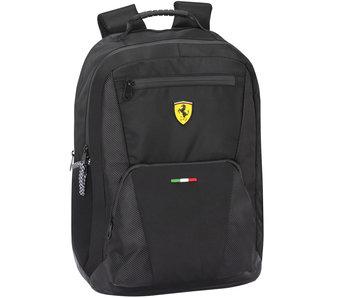 Ferrari Sac à dos de course noir 45 cm