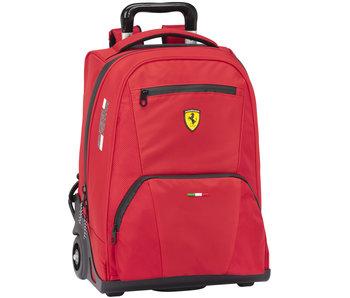 Ferrari Backpack Trolley Premium Red 47 cm
