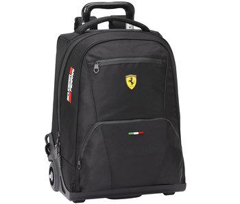 Ferrari Rucksack Trolley Premium Schwarz 47 cm