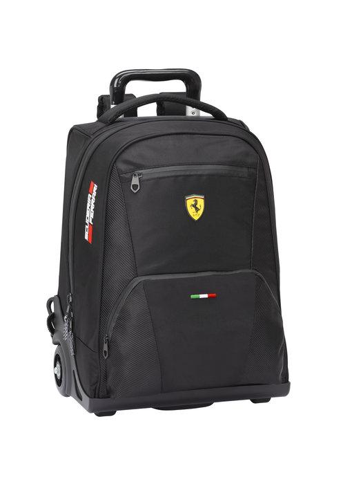 Ferrari Rugzak Trolley Premium Zwart 47 cm