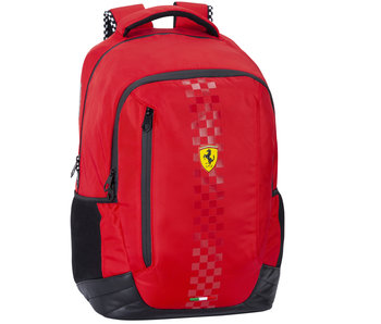 Ferrari Sac à dos rouge 44 cm