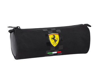 Ferrari Schwarzer Federmappe 22 cm