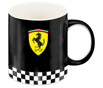 Ferrari Mug Scuderia Logo Black 350 ml