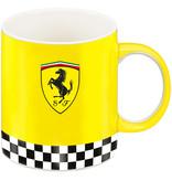 Ferrari Scuderia Logo Geel - Mok - 350 ml - Multi