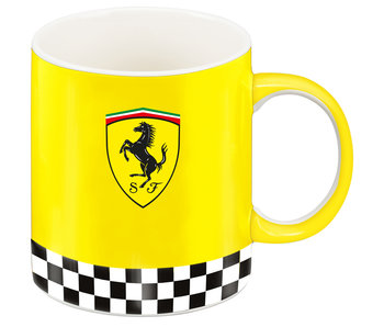 Ferrari Tasse Scuderia Logo Yellow 350 ml