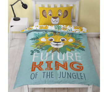 The Lion King Dekbedovertrek Hakuna 135 x 200 cm Polycotton