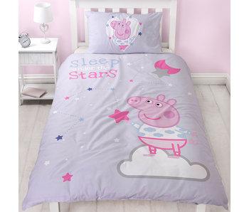 Peppa Pig Sleep Dekbedovertrek 135 x 200 cm