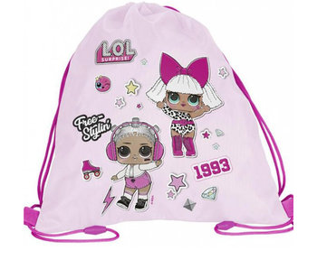 L.O.L. Surprise! Gym bag 34 x 45 cm - Copy