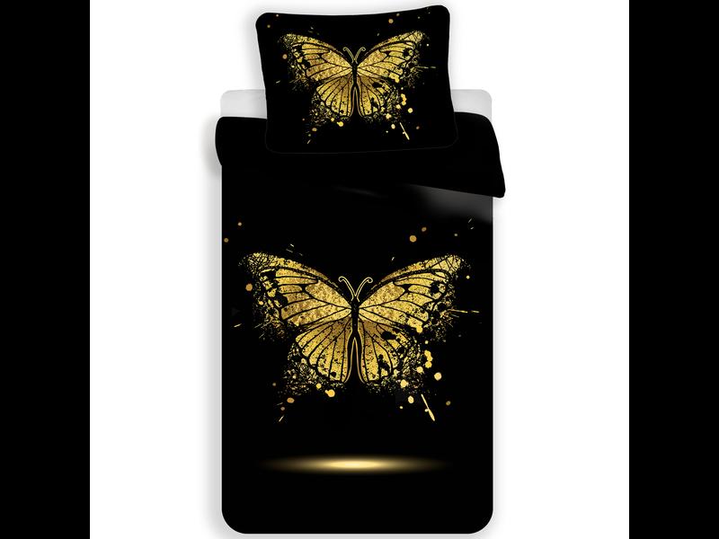 Animal Pictures Vlinders Dekbedovertrek - Eenpersoons - 140  x 200 cm - Polyester