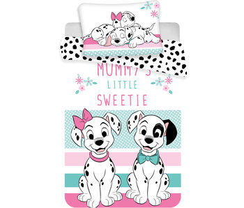 Disney 101 Dalmatiërs BABY Dekbedovertrek Little Sweetie 100 x 135 cm