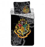 Harry Potter Crest Bettbezug - Single - 140 x 200 cm - Baumwolle