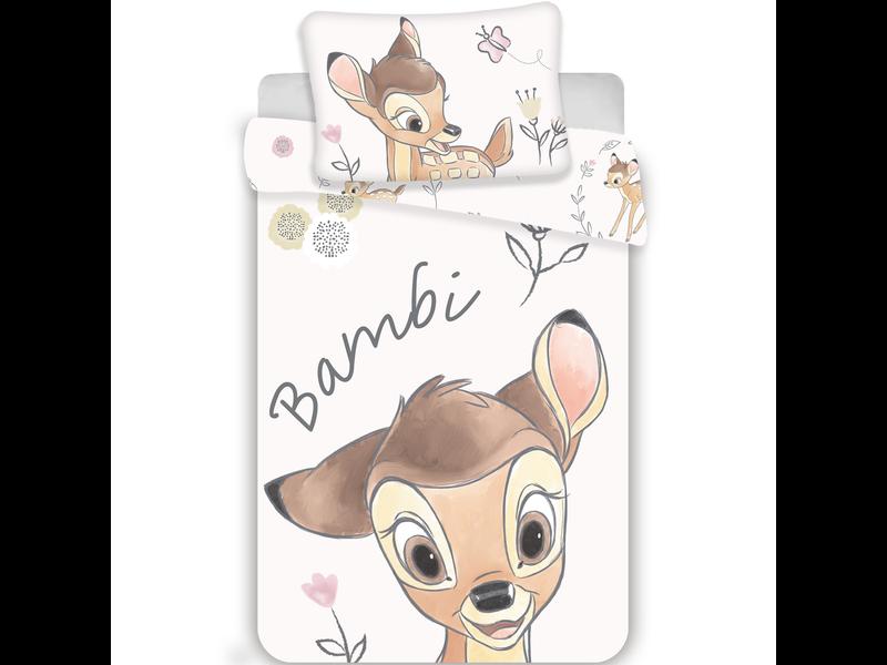 Disney Bambi BABY Bettbezug - 100 x 135 cm - Baumwolle