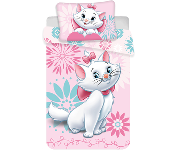 Disney Aristocats BABY Dekbedovertrek Flowers 100 x 135