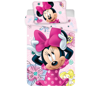 Disney Minnie Mouse BABY Dekbedovertrek 100 x 135