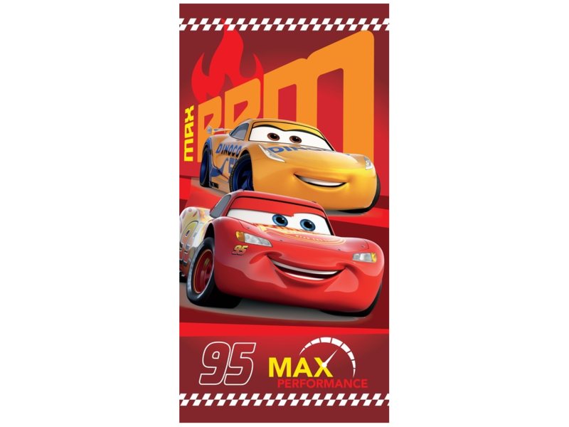 Disney Cars 95 Max Strandtuch - 70 x 140 cm - Multi