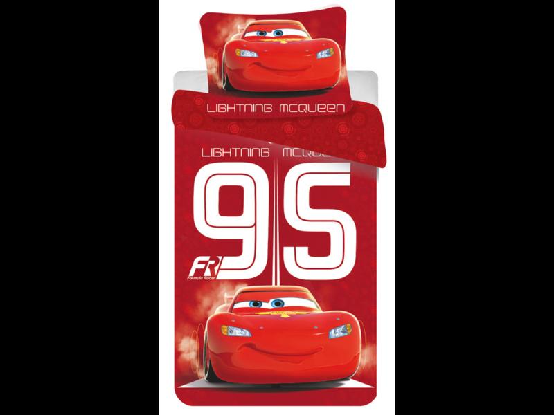 Disney Cars 95 Formula Racer Duvet cover - Single - 140 x 200 cm - Cotton