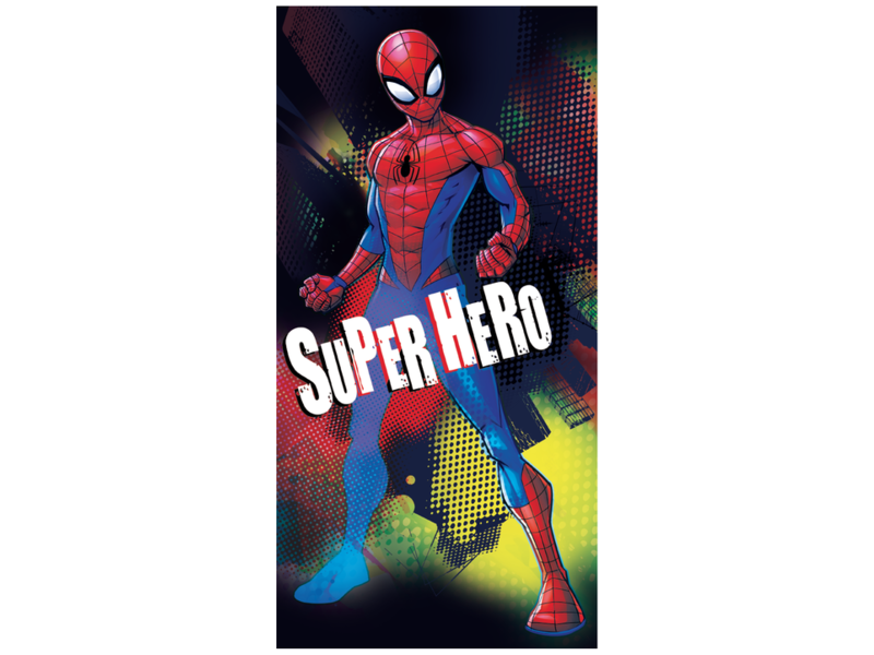 Spider-Man Serviette de plage Superhero - 70 x 140 cm - Multi