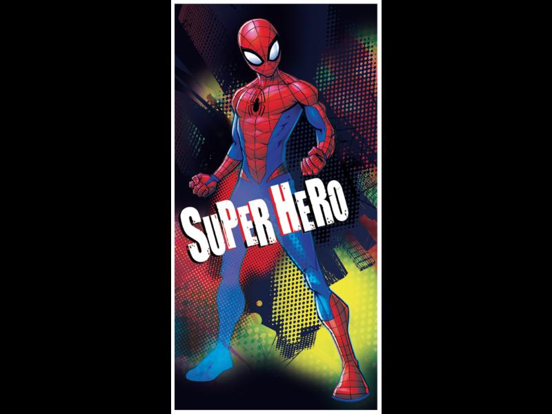 SpiderMan Serviette de plage Superhero - 70 x 140 cm - Multi