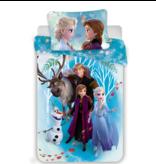 Disney Frozen Duvet cover - Single - 140 x 200 cm - Cotton