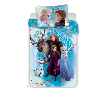 Disney Frozen Dekbedovertrek Family 140 x 200
