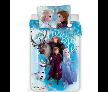 Disney Frozen Familienbettbezug 140 x 200