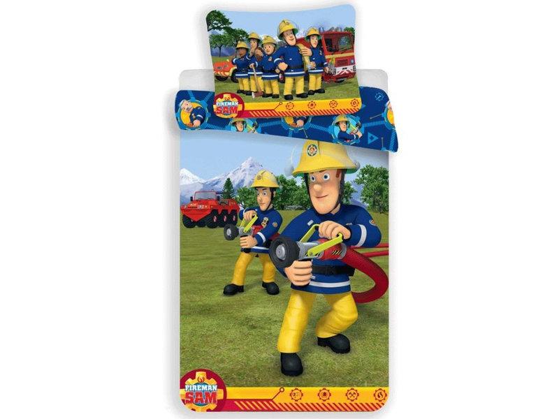Brandweerman Sam BABY Dekbedovertrek - 100 x 135 cm - Katoen