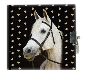 Animal Pictures Journal de cheval blanc 13,5 cm