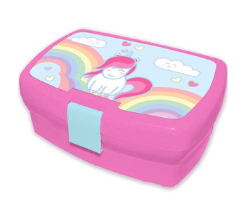 Unicorn Lunch box 18 cm
