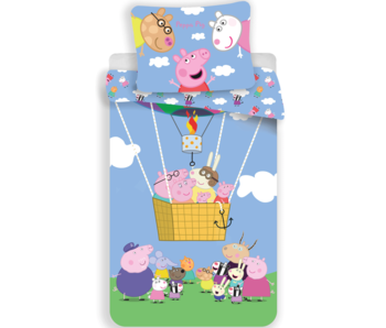 Peppa Pig Bettbezug Luftballon 140 x 200