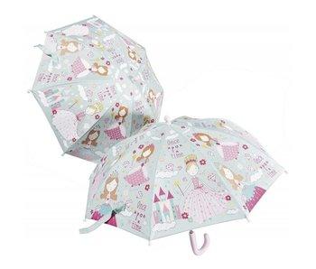 Floss & Rock Kleurveranderende Paraplu Prinses