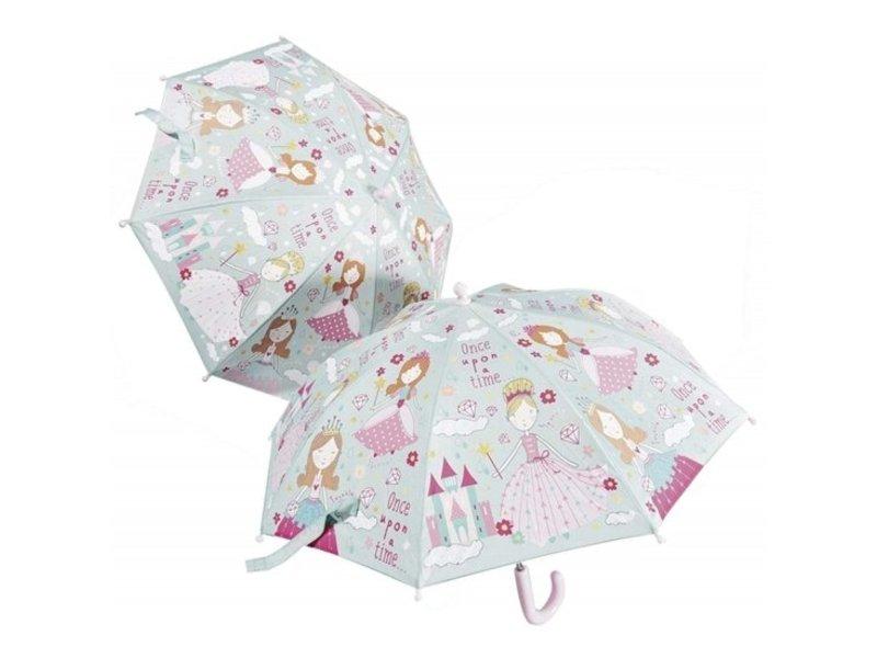 Floss & Rock Paraplu Prinses - Verandert van kleur!