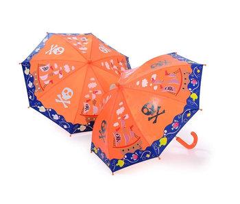 Floss & Rock Kleurveranderende Paraplu Piraten