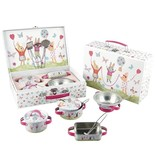 Floss & Rock kitchen set Rabbit - 9 pieces - Multi