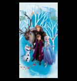 Disney Frozen Strandlaken - 70 x 140 cm - Blauw