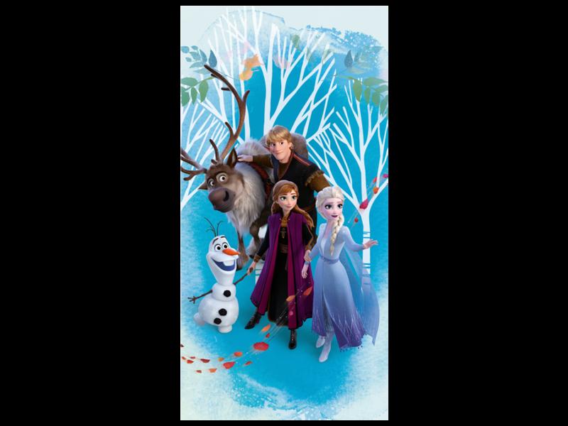 Disney Frozen Serviette de plage - 70 x 140 cm - Bleu