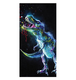 Animal Pictures Strandtuch Dinosaurier - 70 x 140 cm - Multi