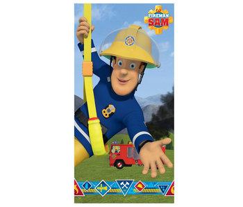 Brandweerman Sam Strandlaken 70 x 140 cm