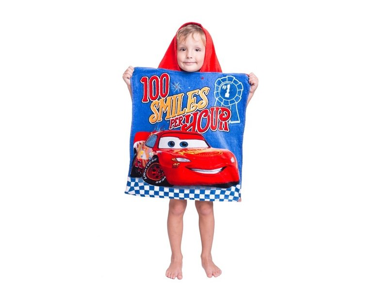 Disney Cars Poncho Fun - 50 x 115 cm - Cotton